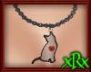 Kitty Necklace Black