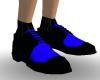 Black an blue shoes