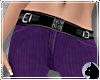 !Cord Jeans Purple