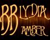 *BB* LYDIA - amber