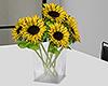 Sunflower vase.