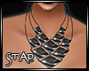 ::S:: Neoly Necklace Bla