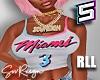 ! RLL Miami Heat Jersey