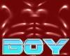 BOY Red PVC Croptop
