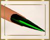 Toxic Green Nails