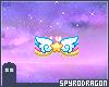 Dream wings . Badge