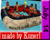!K! Private Island Raft