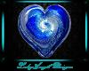 Glass Heart - Sapphire