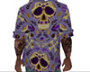 Sugar Skull Open Shirt M