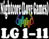 Nightcore Love Games