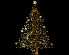 Golden Christmas tree 2
