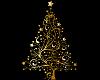 Golden Christmas tree 2