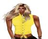 *B*yellow blouse