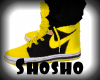 *Sho*Black & Yellow J's