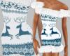 OO* Winter Fur blue dres