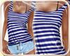 !NC Hot Sailor Fit Bleu