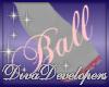 Diva Lt Pink Ball Skirt