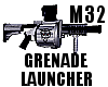 Grenade Launcher-M32trib