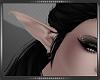 Anim Elf Ears Blk Plug F