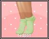 T  Kids Green Socks