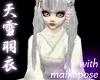 JP angelic snow kimono