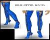 BLue Zipper Boots~