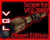 VGL2000 Scope desert