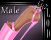 !! Male Pink Platform