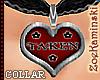 ~ TAKEN Collar Choker 1