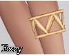 Pyramid Gold Bracelet .