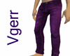 Sexy Purple Denim Jeans
