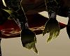 Blk Gold Warrior Gloves