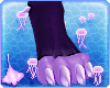 Oxu | Purply Feet Paws
