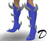 Demon Spiked Boots Mesh