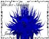 Blue Plushy Demon Mane