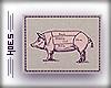 h. Vintage Pig Poster