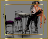 Club Deco Table & Chairs