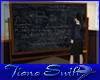 Physics Class Blackboard