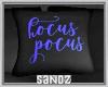 S. Hocus Pocus Pillow