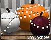 ☽ Painted Pumpkins