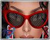 Jani Sunglasses red
