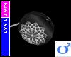 (Nat) Grey Flower YoYo