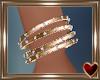 Gold Dainty Bracelet L