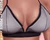 Kayla Top Bra Grey