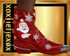 [L] Christmas boots M