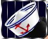 *RB* Sailor Hat - White