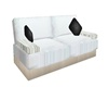 white poseless couch