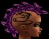 purple&black dragon