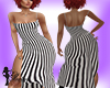 B&W Stripped Dress