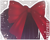 F. Babydoll Bow Red